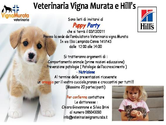 puppy party roma eur